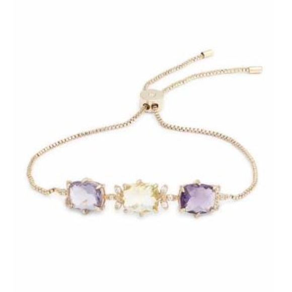Jenny Packham Jewelry - JENNY PACKHAM Stone Slider Bracelet